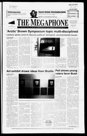 Primary view of object titled 'The Megaphone (Georgetown, Tex.), Vol. 98, No. 14, Ed. 1 Thursday, February 5, 2004'.