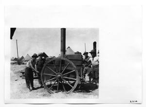 Primary view of object titled '[Army Artillery Piece]'.