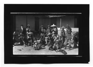 Primary view of object titled '[Rebels Posing for a Photo]'.