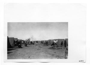 Primary view of object titled '[Refugee Camp]'.