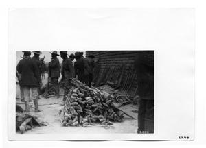 Primary view of object titled '[Stack of Mausers]'.