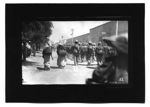 Primary view of object titled '[Federal Soldiers Marching]'.