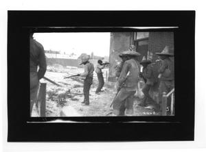 Primary view of object titled '[Taking a Shot]'.
