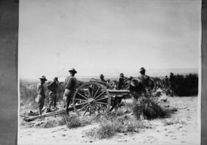 Primary view of object titled '[United States Field Artillery]'.