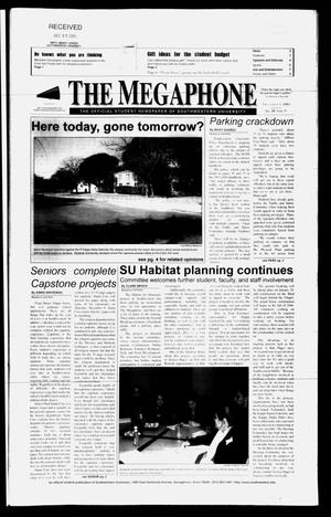 Primary view of object titled 'The Megaphone (Georgetown, Tex.), Vol. 98, No. 11, Ed. 1 Thursday, December 1, 2005'.