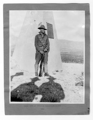 Primary view of object titled '[U.S. Soldier On Guard Duty]'.