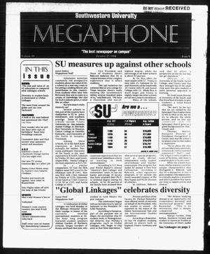 Primary view of object titled 'Megaphone (Georgetown, Tex.), Vol. 89, No. 9, Ed. 1 Thursday, October 27, 1994'.