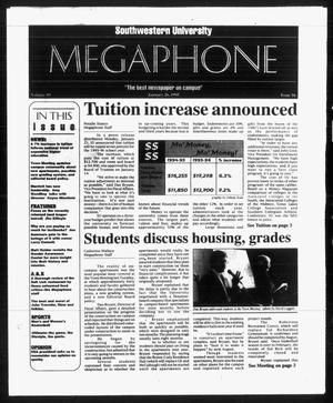 Primary view of object titled 'Megaphone (Georgetown, Tex.), Vol. 89, No. 16, Ed. 1 Thursday, January 26, 1995'.
