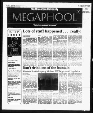 Primary view of object titled 'Megaphone (Georgetown, Tex.), Vol. 89, No. [25], Ed. 1 Saturday, April 1, 1995'.
