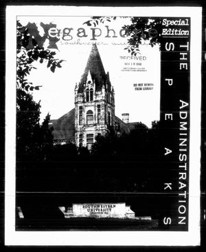 Primary view of object titled 'Megaphone (Georgetown, Tex.), Vol. [93], No. [10], Ed. 1 Thursday, November 19, 1998'.