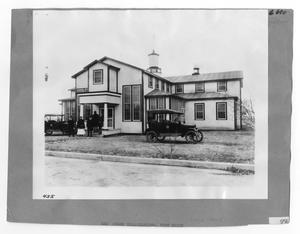 Primary view of object titled '[Red Cross Headquarters]'.
