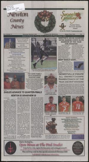 Newton County News (Newton, Tex.), Vol. 44, No. 14, Ed. 1 Wednesday, December 5, 2012