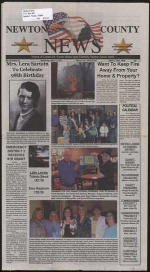 Newton County News (Newton, Tex.), Vol. 43, No. 29, Ed. 1 Wednesday, March 14, 2012