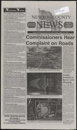 Newton County News (Newton, Tex.), Vol. 40, No. 28, Ed. 1 Wednesday, January 21, 2009