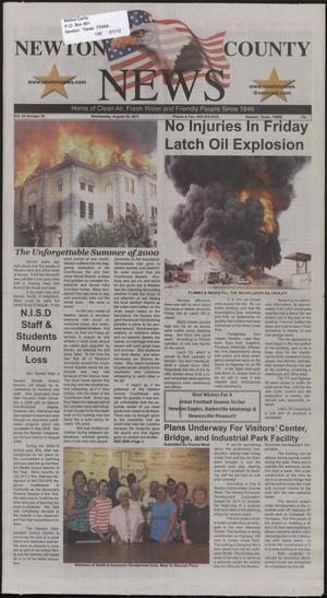 Newton County News (Newton, Tex.), Vol. 42, No. 59, Ed. 1 Wednesday, August 31, 2011