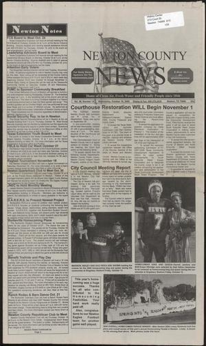 Newton County News (Newton, Tex.), Vol. 38, No. 14, Ed. 1 Wednesday, October 18, 2006