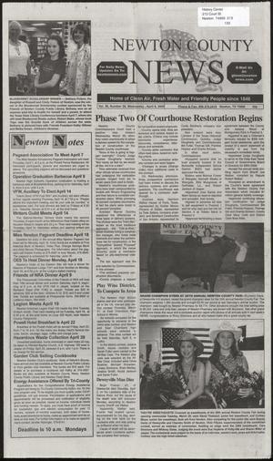 Newton County News (Newton, Tex.), Vol. 36, No. 38, Ed. 1 Wednesday, April 6, 2005