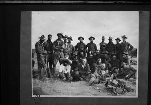 Primary view of object titled '[American Soldiers]'.