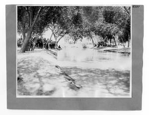Primary view of object titled '[Acequia Madre In Juarez]'.