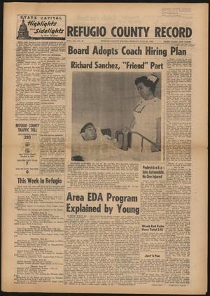 Primary view of Refugio County Record (Refugio, Tex.), Vol. 12, No. 44, Ed. 1 Monday, June 20, 1966