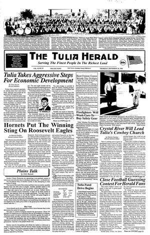 The Tulia Herald (Tulia, Tex.), Vol. 92, No. 39, Ed. 1 Thursday, September 28, 2000