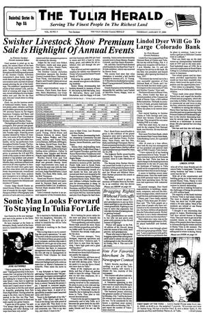 The Tulia Herald (Tulia, Tex.), Vol. 92, No. 4, Ed. 1 Thursday, January 27, 2000