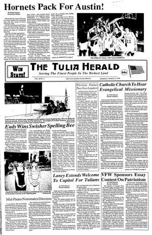 The Tulia Herald (Tulia, Tex.), Vol. 90, No. 11, Ed. 1 Thursday, March 12, 1998