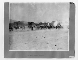 Primary view of object titled '[Raising the Dust]'.
