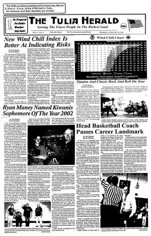The Tulia Herald (Tulia, Tex.), Vol. 94, No. 09, Ed. 1 Thursday, February 28, 2002