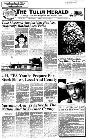The Tulia Herald (Tulia, Tex.), Vol. 94, No. 01, Ed. 1 Thursday, January 3, 2002