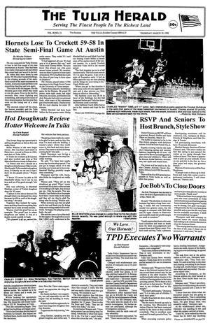 The Tulia Herald (Tulia, Tex.), Vol. 90, No. 12, Ed. 1 Thursday, March 19, 1998