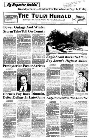 The Tulia Herald (Tulia, Tex.), Vol. [90], No. [5], Ed. 1 Thursday, February 4, 1999