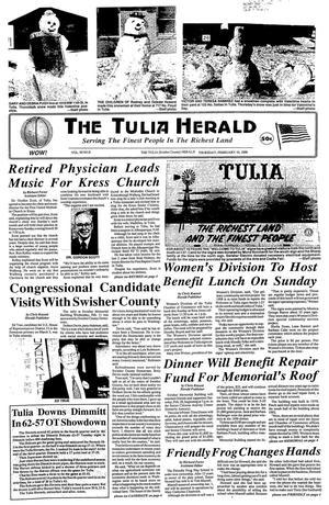 The Tulia Herald (Tulia, Tex.), Vol. 90, No. 8, Ed. 1 Thursday, February 19, 1998