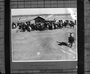 Primary view of object titled '[Red Cross Station]'.