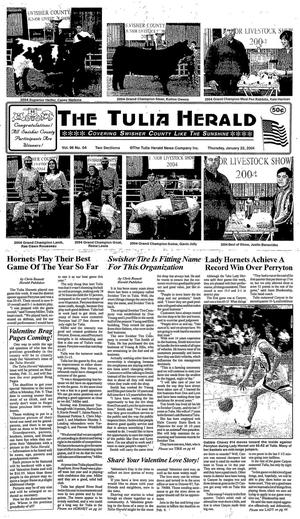 The Tulia Herald (Tulia, Tex.), Vol. 96, No. 04, Ed. 1 Thursday, January 22, 2004