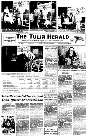 Primary view of object titled 'The Tulia Herald (Tulia, Tex.), Vol. 90, No. 4, Ed. 1 Thursday, January 28, 1999'.