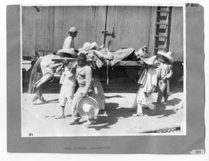 Primary view of object titled '[Rebel Stretcher Bearers]'.