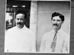 Primary view of object titled '[Pancho Villa and Man]'.