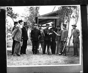 Primary view of object titled '[Unknown Mexican Federal Officers]'.