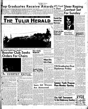 Primary view of object titled 'The Tulia Herald (Tulia, Tex.), Vol. 56, No. 21, Ed. 1 Thursday, May 26, 1966'.
