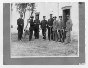 Primary view of object titled '[Mexican Federal Officers]'.