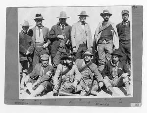 Primary view of object titled '[Mexican Officers]'.