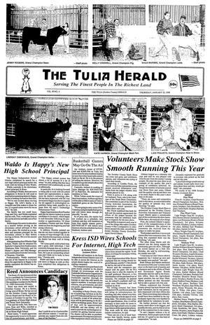 The Tulia Herald (Tulia, Tex.), Vol. 90, No. 4, Ed. 1 Thursday, January 22, 1998