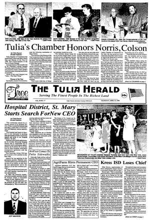 The Tulia Herald (Tulia, Tex.), Vol. 90, No. 17, Ed. 1 Thursday, April 23, 1998