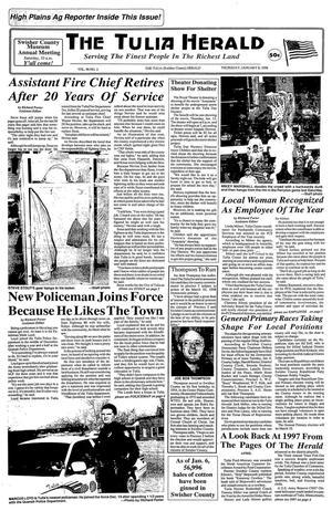 The Tulia Herald (Tulia, Tex.), Vol. 90, No. 2, Ed. 1 Thursday, January 8, 1998