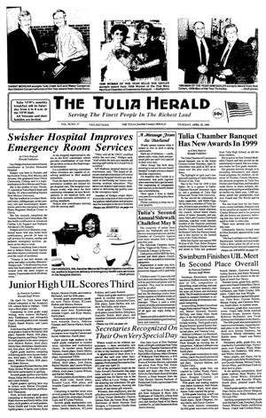 Primary view of object titled 'The Tulia Herald (Tulia, Tex.), Vol. 90, No. 17, Ed. 1 Thursday, April 29, 1999'.