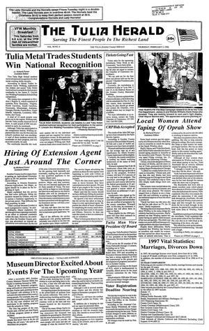 The Tulia Herald (Tulia, Tex.), Vol. 90, No. 6, Ed. 1 Thursday, February 5, 1998