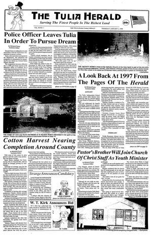 The Tulia Herald (Tulia, Tex.), Vol. 90, No. 1, Ed. 1 Thursday, January 1, 1998