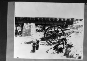 Primary view of object titled '[Mexican Revolution Field Artillery]'.