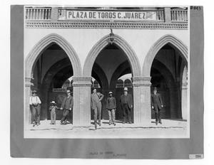 Primary view of object titled '[Plaza de Toros]'.